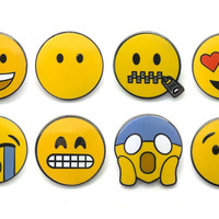 Smiley Faces Pin Pack 2