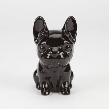 Ceramic Frenchie Bank Black One Size For Men 23832510001