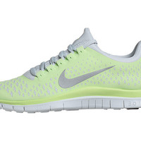 Nike FREE 3.0 v4 Women's Shoes Liquid Lime/Silver