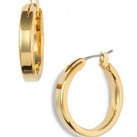 Women's Nordstrom Medium Snap Post Hoop Earrings