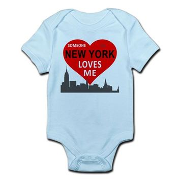 Someone in NY Loves Me Infant Bodysuit