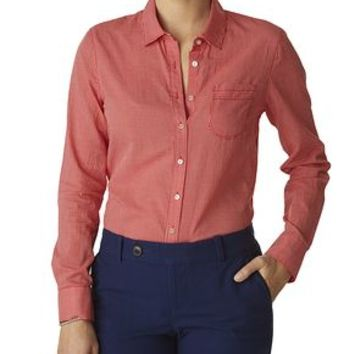 Dockers The Perfect Pattern Shirt - Red - Women's