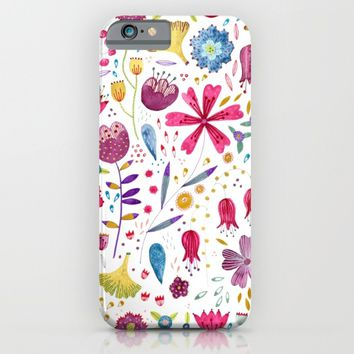 Autumn Hedgerow iPhone & iPod Case by Nic Squirrell