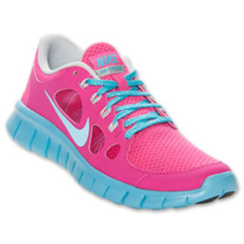 Girls' Grade School Nike Free Run 5 Running Shoes