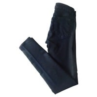Pencil leg coated glory J BRAND Blue