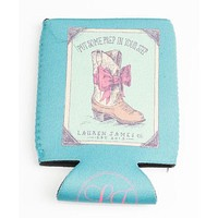 Prep In My Step Can Holder in Seafoam by Lauren James - FINAL SALE