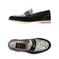Swear By Keith Haring Moccasins
