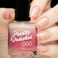 Pretty & Polished Caramel Apple Pie Nail Polish