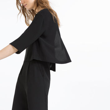 LANGER CAPE-OVERALL