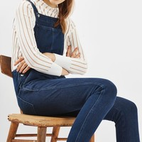 MOTO Indigo Denim Dungarees - New In This Week - New In