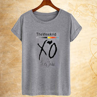the weeknd xo till we overdose t-shirt
