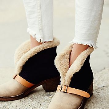 Free People Womens Jax Shearling Boot