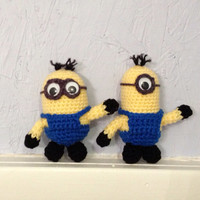 Minions - Stuffed Animal - Amigurumi