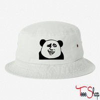 funny dictator bucket hat