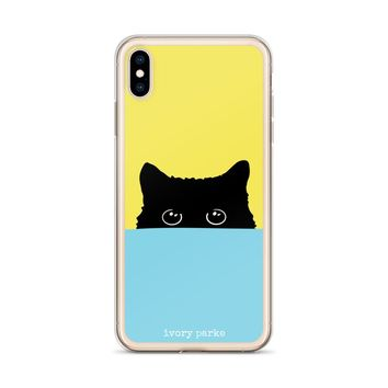 Cats Out Of The Bag iPhone Case