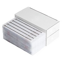100 pcs Assorted Disposable Sterile Tattoo Needles Mixed Size For Tattoo Ink Cups Tips Kits