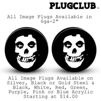 MISFITS Body Jewelry Plugs | Plug Club