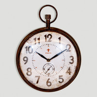 Chantal Round Iron Clock - World Market