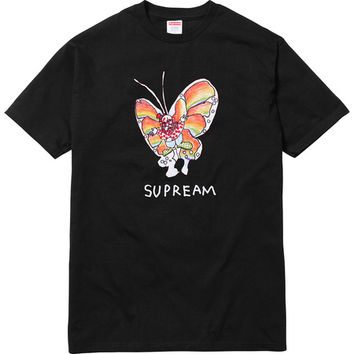 Supreme: Gonz Butterfly Tee - Black