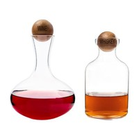 Wine & Whiskey Decanter Set