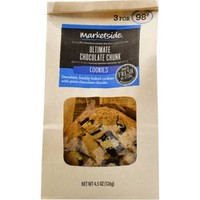Marketside Freshly Baked Ultimate Chocolate Chunk Cookies, 4.5 oz, 3 count - Walmart.com