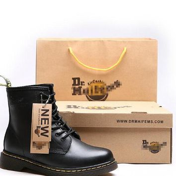 Original Dr Martens Genuine Leather Unisex Boots Factory Price