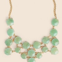 Jade Notions Jeweled Necklace