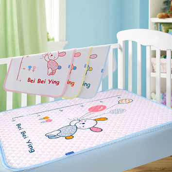 New cotton baby  waterproof pad bed sheets changing mat