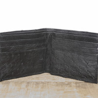 Ostrich Leather Wallet (Bi-Fold)