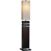 Waterfall Floor Lamp Dark Brown
