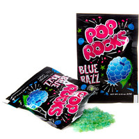 Pop Rocks Candy Packs - Blue Raspberry: 24-Piece Box