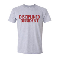 Disciplined Dissident  | Hamilton Musical T-Shirt |  100% Cotton Shirt | Available Sizes S | M | XL | Black, Grey & White Shirt