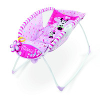 Disney Baby to Toddler, Infant Minnie Mouse Rocker Vibrating Sleeper