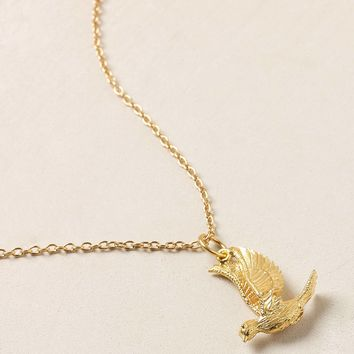 Mirabelle Sparrow Charm Necklace