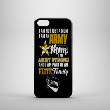 ARMY STRONG MOM Design Custom Case for iPhone and Samsung Galaxy Phones