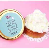 Cream and Milk Whipped Body Butter