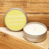 Mine Design Positive Candle