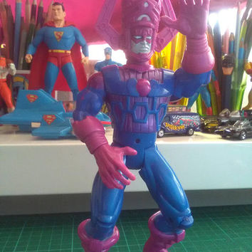 Galactus vintage action figure,Marvel,Toybiz 1998,toys,comics,superhero,marvel,dc,retro toys,Pop, nineties,8 inch,pre owned, collectibles