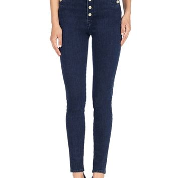 J Brand Natasha Sky High Super Skinny in Allegiance | Boutique To You