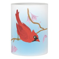Cardinal Flameless Candle