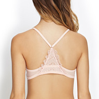 Enhanced Lacey Racerback Bra