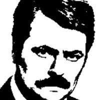 Ron Swanson Cross Stitch Pattern | Los Angeles Needlework