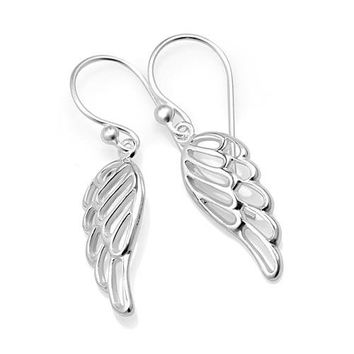 Wings of an Angel Sterling Silver Earrings