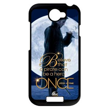 Once Upon A Time Captain Hook Believe HTC One S Case