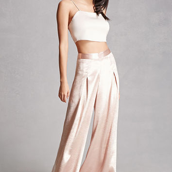 Endless Rose Satin Gaucho Pants