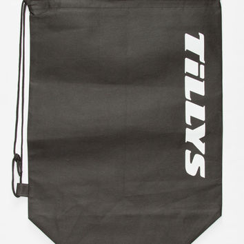 Tillys Cinch Sack Black One Size For Women 26772610001