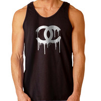 Chanel White For Mens Tank Top and Womens Tank Top *