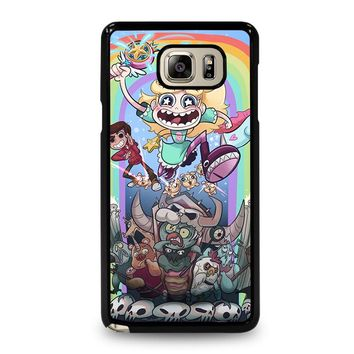 DISNEY STAR VS THE FORCE OF EVIL Samsung Galaxy Note 4 Case Cover