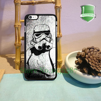 Star Wars Comic on leather texture Original Black Cell Phone Cases For Iphone 7 7plus 6 6 plus 6s 6splus 5 5s 5c 4 4s B*0617