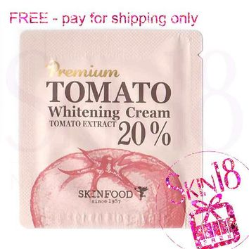 Freebies - Skinfood Premium Tomato Whitening Cream (Sample Pack)  *exp.date 09/18